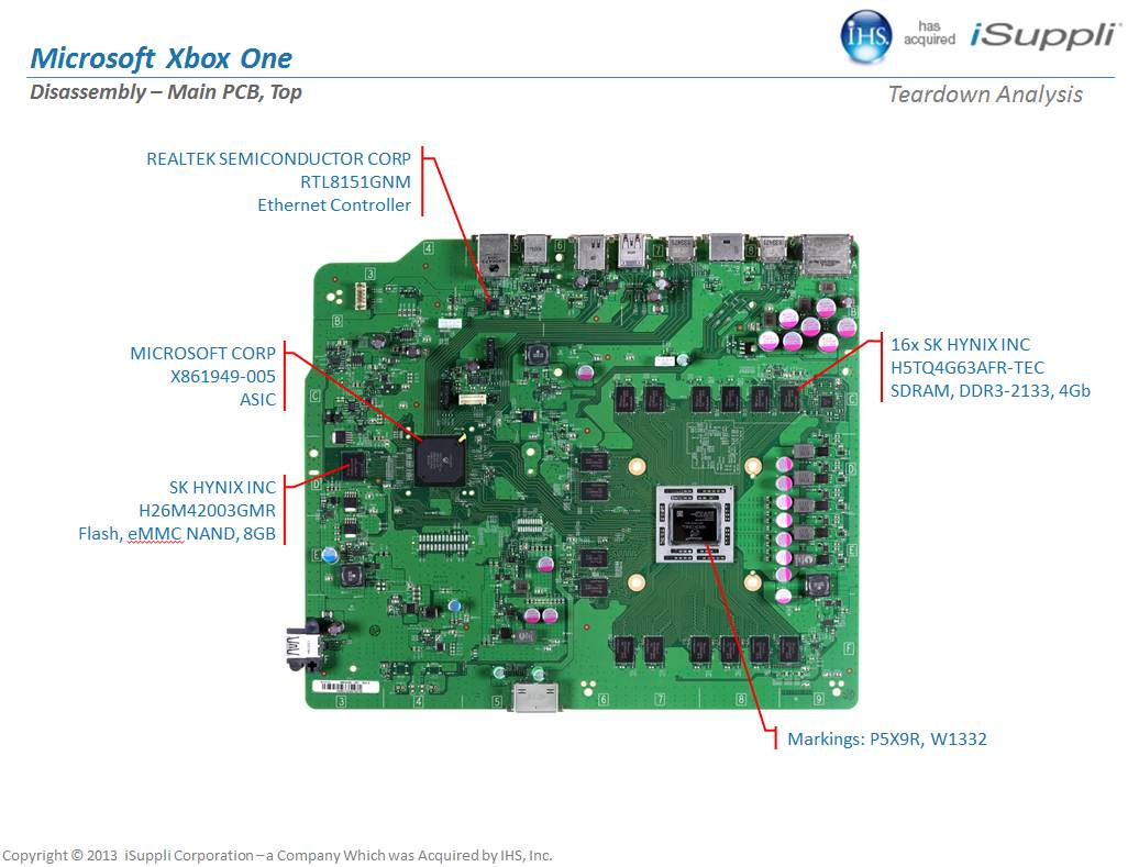 hight resolution of pcb xbox one diagram simple wiring post