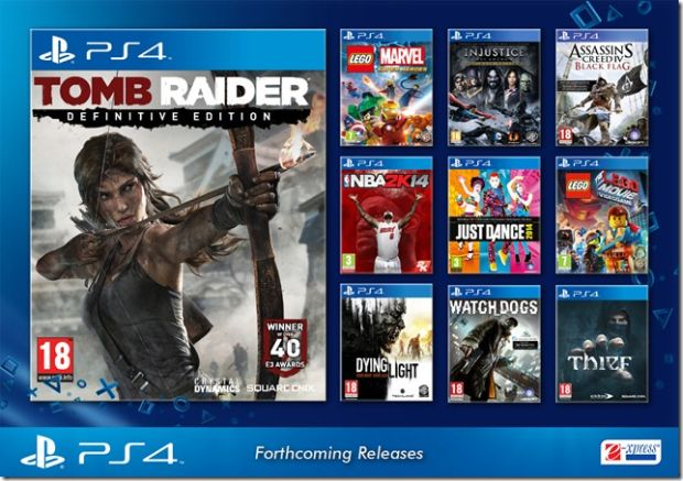 Tomb Raider Definitive Edition Priced For PS4 In India