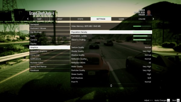 Grand Theft Auto 5 PC Graphics Options And Settings Revealed