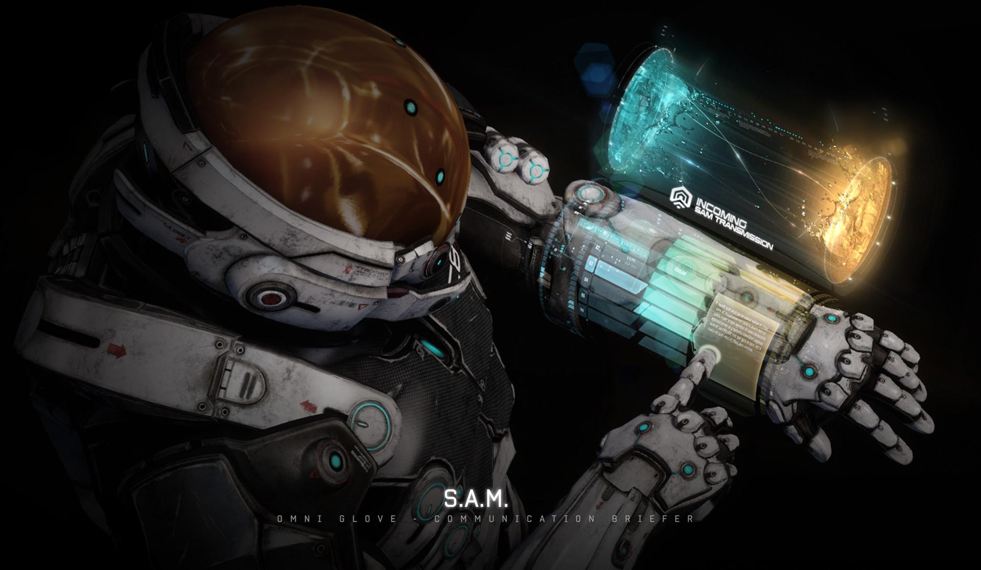 Mass Effect Andromeda Official Concept Art Shows Cut