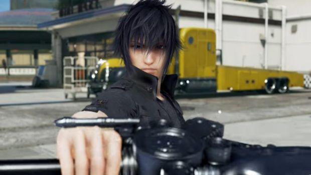 Tekken 7_Final Fantasy 15_Noctis