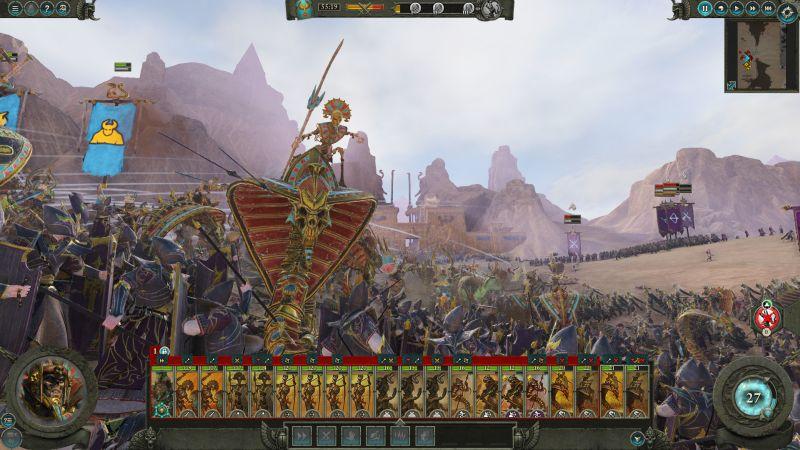 Tomb Kings Warhammer 2 Total War Map