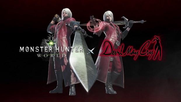 Monster Hunter World Devil May Cry