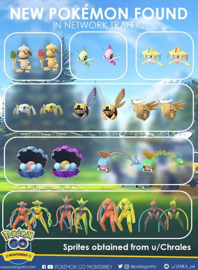 Pokemon Go Datamine