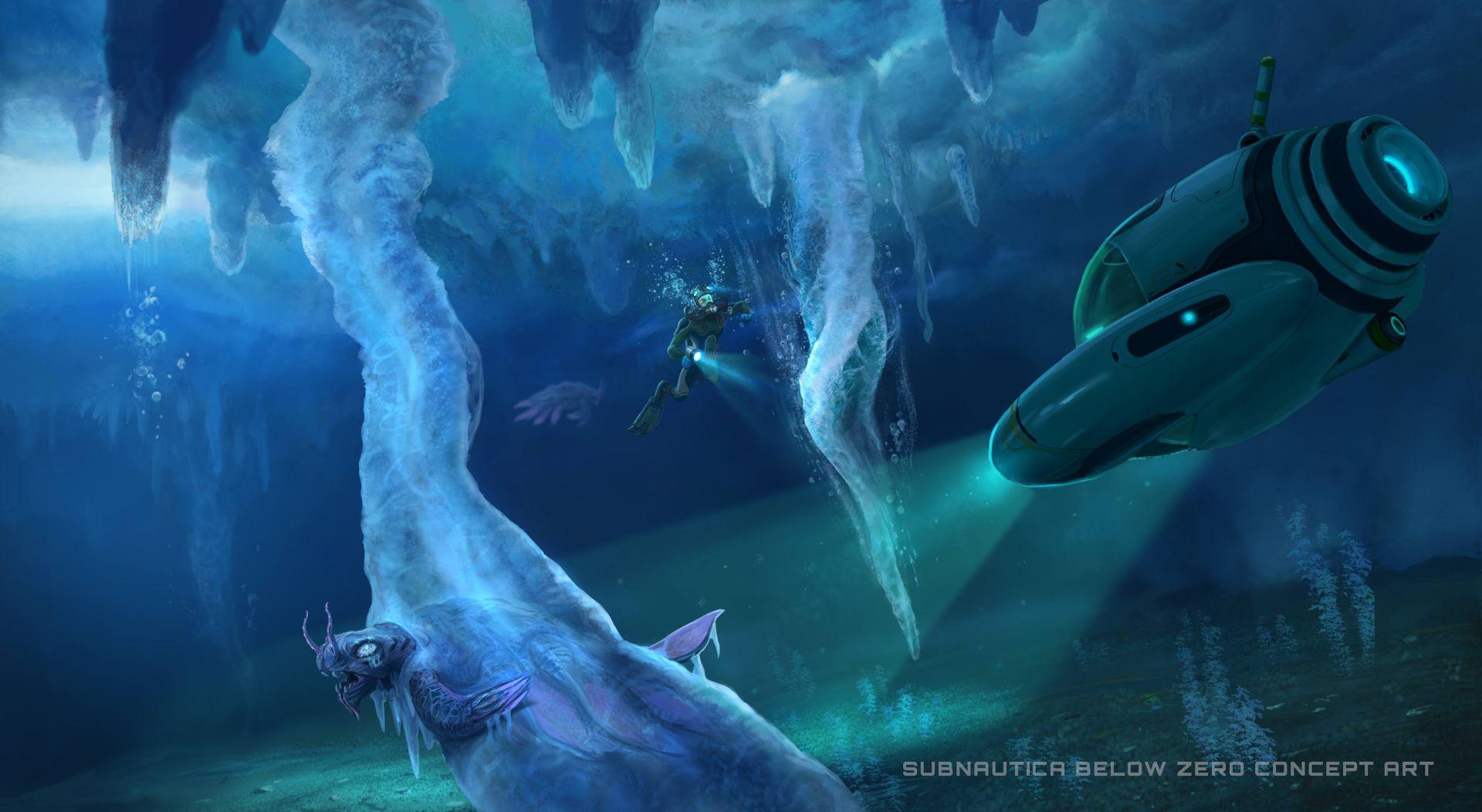 subnautica below zero announced