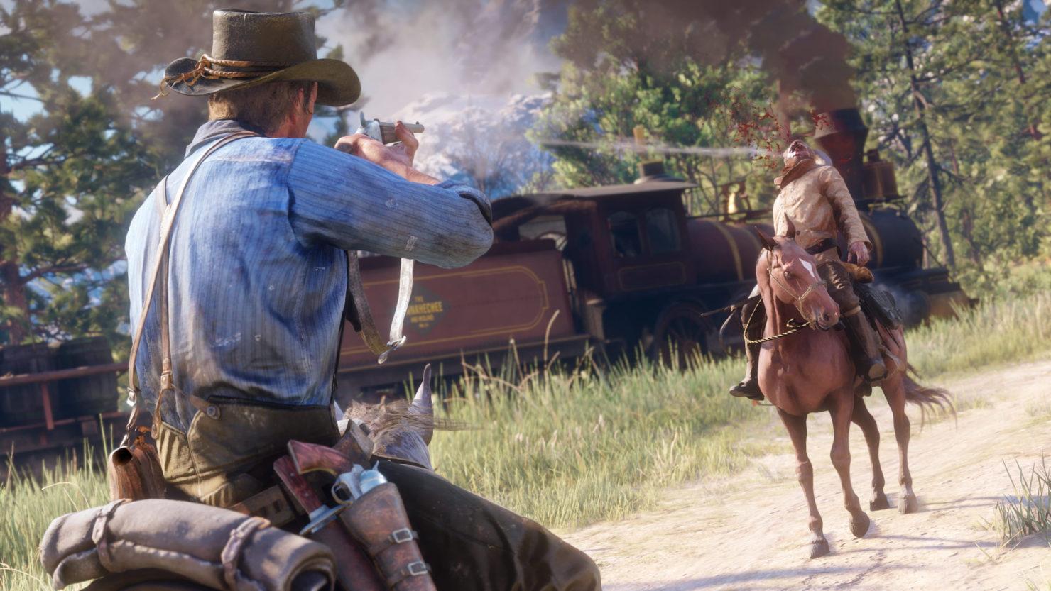 Red Dead Redemption 2's Guns Detailed. New Screenshots Showcase Dead-Eye