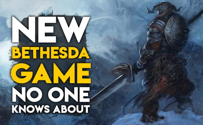 Bethesda Has A New Game Coming Out This Year That Nobody