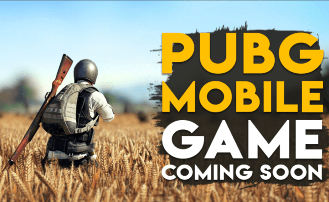 Pubg Mobile Game Coming Soon Published By Tencent