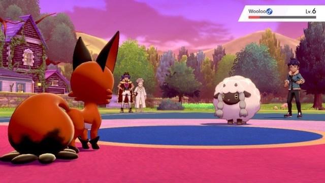 Pokemon Battle Nickit Vs Wooloo