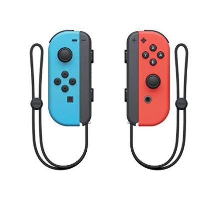 Nintendo Switch blue and red joy-con