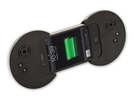 IYO: iPhone eingeschoben. (Foto: D-Parts)