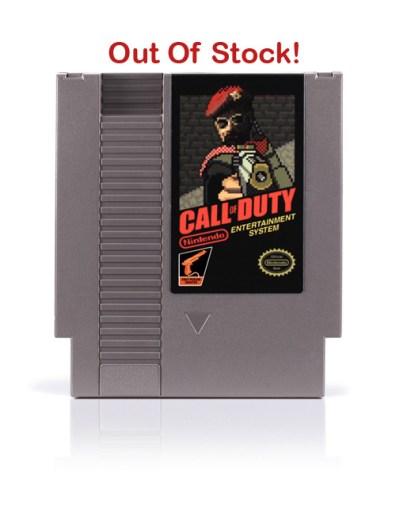 Call of Duty für das NES? (Foto: 72 Pins)