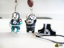 Tiny & Big - Schlüsselanhänger. (Foto: Crapwaer)