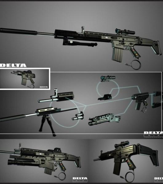 Baut euch eure Waffe. (Foto: Kotkin Enterprises)