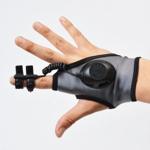 Der Handschuh im Einsatz. (Foto: Thanko)
