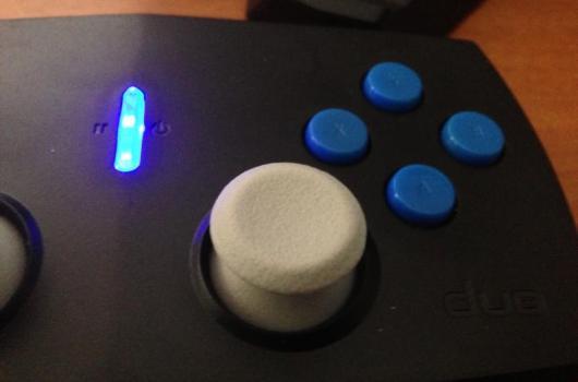 Was tut das? Es leuchtet blau. (Foto: GamingGadgets.de)