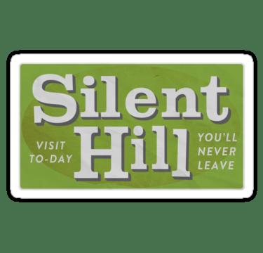 Silent Hill-Sticker. (Foto: Redbubble)