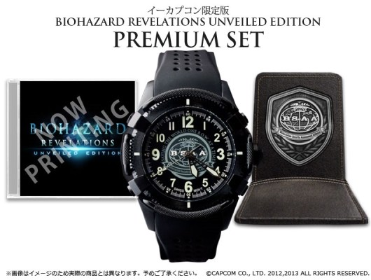 Über 300 Euro kostet die Ausgabe mit Uhr. (Foto: Capcom)