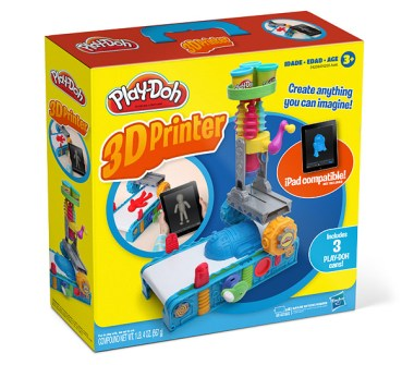 Der Play-Doh 3D-Drucker. (Foto: ThinkGeek)