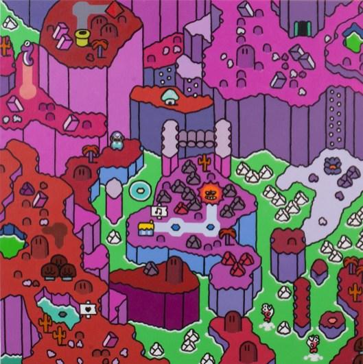 Super Mountain World (Foto: art-by-ken.com)