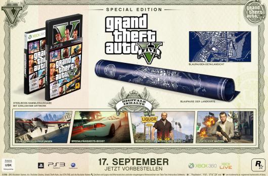 Die Special Edition von GTA V (Foto: Rockstar Games)