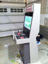 Nintendo Arcade Cabinet. (Foto:imgur.com)