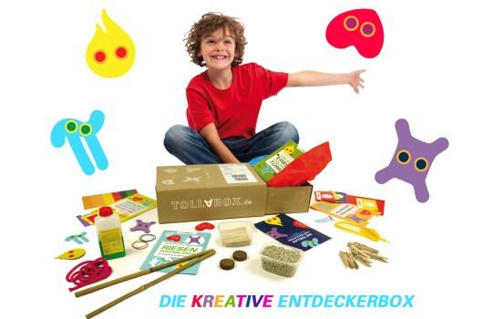 Die Basteleien sollen auch pädagogisch wertvoll sein. (Foto: Tollabox.de)