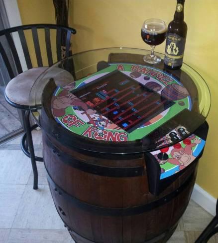 Donkey Kong Tisch. (Foto: arcadecontrols.com)