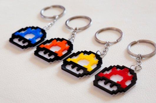 Die größeren Varianten  - Schlüsselanhänger. (Foto: Etsy)