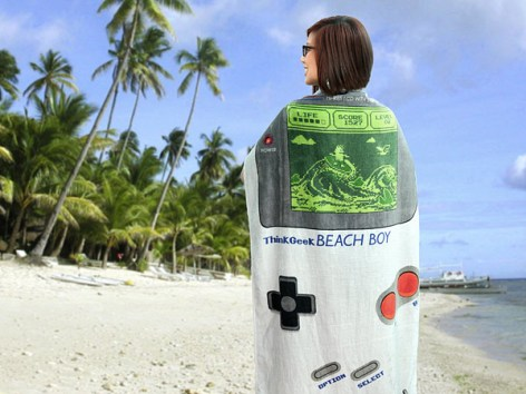 Beach Boy Towel. (Foto: ThinkGeek)