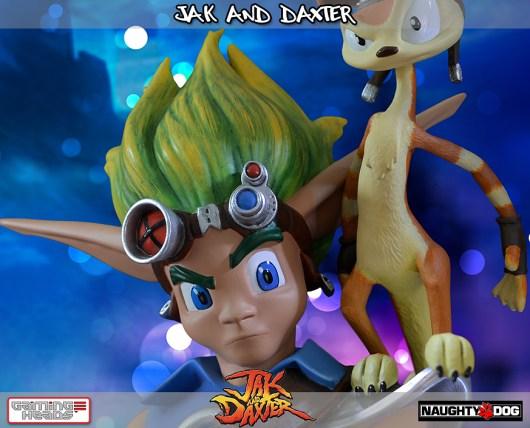 Jak & Daxter als Figur. (Foto: Gaming Heads)