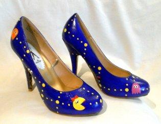 Ms. Pac-Man High Heels. (Foto: Etsy)
