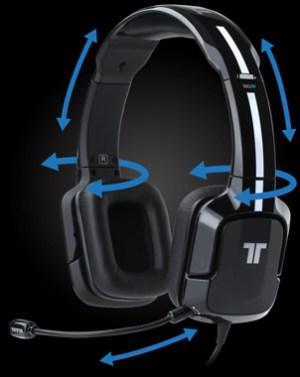 Das Headset passt sich jeder Kopfform an (Foto: trittonaudio.com)