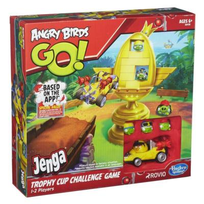 Jenga Trophy Cup Challenge. (Foto: Hasbro)