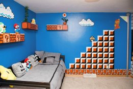 Das Mario-Kinderzimmer. (Foto: imgur)