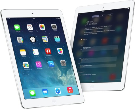 Das iPad Air. (Foto: Apple)