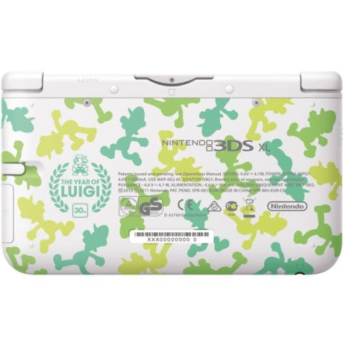 Das Luigi-Design des 3DS XL. (Foto: Nintendo)