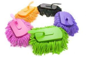 Den Mini-Mop gibt es in vielen bunten Farben (Foto: JapanTrendShop)