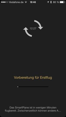 Ein paar Sekunden dauert der Start immer.. (Foto: GamingGadgets.de)