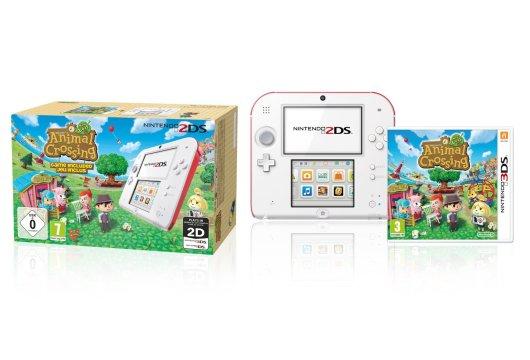 Animal Crossing: New Leaf samt 2DS. (Foto: Nintendo)
