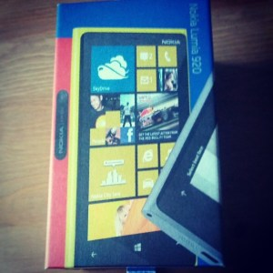 Das Nokia Lumia 920 mit Windows 8.