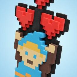 8-Bit Heart Bouquet. (Foto: ThinkGeek)