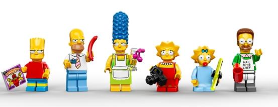 LEGO The Simpsons. (Foto: LEGO)