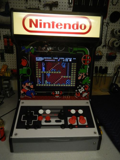 Bartop Arcade. (Foto: Instructables)