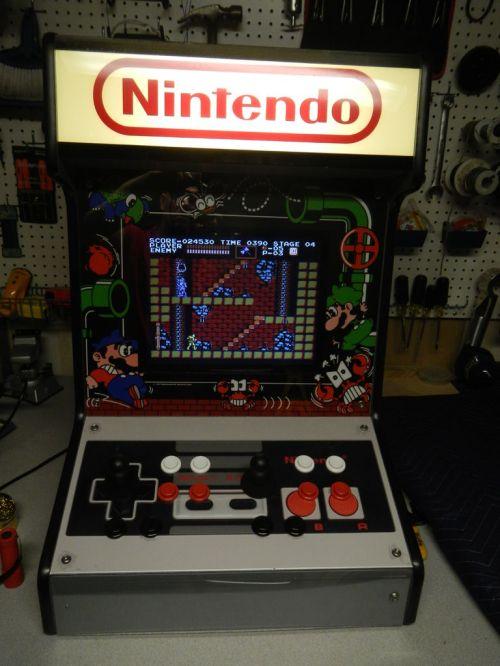 Bartop Arcade. (Foto: Instructables)