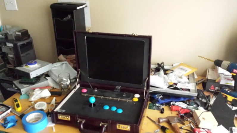 Briefcase Arcade. (Foto: Travis Reynolds)