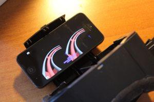 Zwei Bilder auf einem Display. (Foto: GamingGadgets.de / Sven Wernicke)