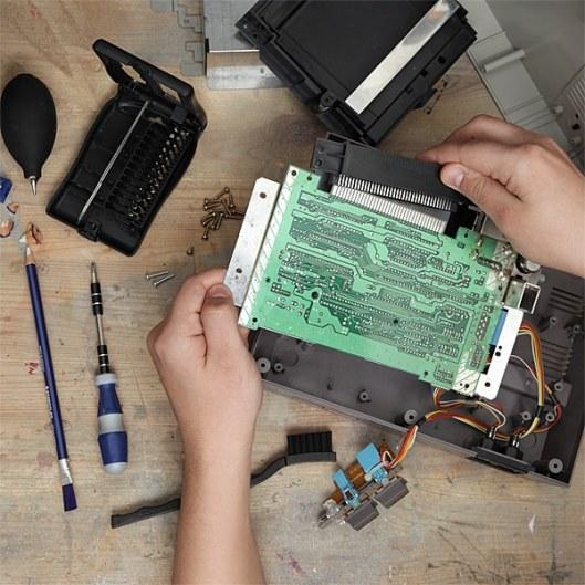 Game Console & Electronics Refurbishing Kit (Foto: ThinkGeek)
