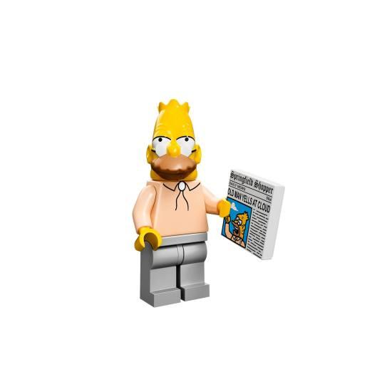 Grandpa Simpson (Foto: Lego)