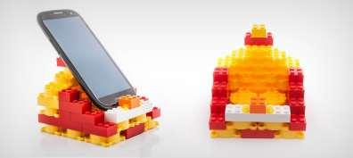 Auch als Handy-Halter nutzbar (Foto: cleverpack.com.br)